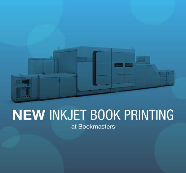 Bookmasters' new inkjet technology